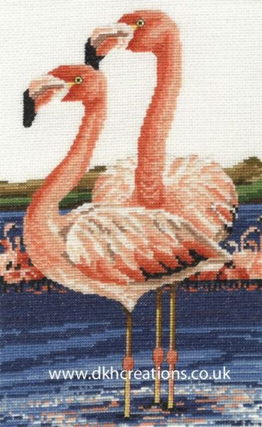 Two's Company Cross Stitch Kit